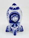 Скульптура «Ракета с космонавтом» авт. А. Ларин