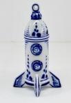 Скульптура «Ракета с космонавтами» подвесная авт. А. Ларин