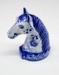 Скульптура «Конь» колокольчик авт. А. Ларин