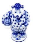 Скульптура «Колобок. Медведь» авт. А. Ларин
