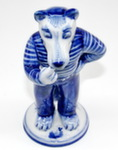 Скульптура «Колобок. Волк» авт. А. Ларин