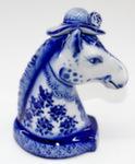 Скульптура «Лошадь. В шляпе» колокольчик авт. А. Ларин