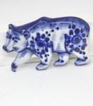 Скульптура «Медведь» магнит авт. А. Ларин