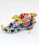 Скульптура «Туфля Скоморох» цвет авт. Е. Пегушина