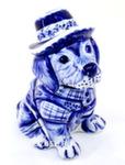 Скульптура «Пес в шляпе» авт. Ю.Ширенин