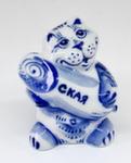 Скульптура «Кот с колбасой» авт. Ю.Ширенин