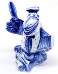 Скульптура «Ворон с пером» авт. Ю.Ширенин