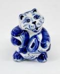 Скульптура «Кот с окороком» авт. Ю.Ширенин