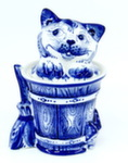 Скульптура «Ешкин кот» шкатулка авт. Ю.Ширенин