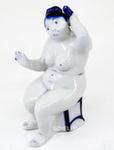 Из серии скульптур «В парной. С веником» авт. В. Неплюев и С. Жукова