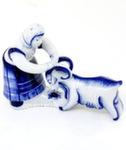 Из серии скульптур «Бабы. С козой» авт. В. Неплюев и С. Жукова