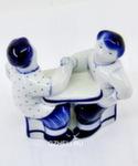 Из серии скульптур «Русские забавы. Кто кого» авт. В. Неплюев и С. Жукова