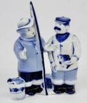 Из серии скульптур «Рыбаки. 4» авт. В. Неплюев и С. Жукова