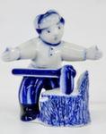 Из серии скульптур «Дровосеки. Рубит дрова» авт. В. Неплюев и С. Жукова