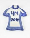 1 Скульптура «Футболка ЧМ 2018» магнит авт. С. Малкин