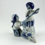 Скульптура «Остаб и габка» авт. Г. Денисов