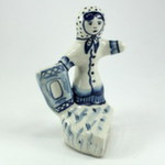 Скульптура «Жадная баба» авт. Г. Денисов