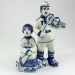 Скульптура «В дали от дома» авт. Г. Денисов