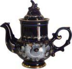 Чайник «Голубка» (глухой кобальт) авт. А. А. Рогов