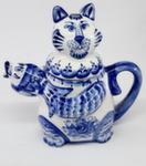 Чайник «Кот с рыбой»