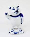 Скульптура «Белый мишка» авт. Т. Федоровская
