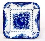 Тарелка «Нежность» пирожковая квадрат 1 авт. С. Алёхин