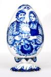 Яйцо пасхальное «Сюжет» авт. С. Алёхин