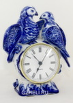 Часы каминные «Голуби»